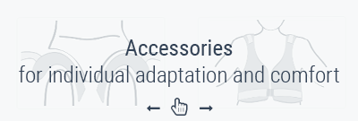 Accessories for individual adaptation and comfort