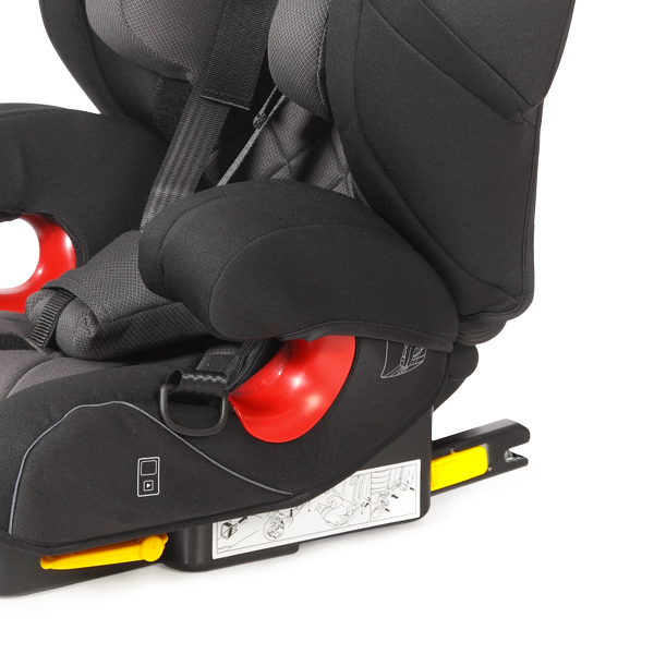 Seatfix model with integrated Isofix arms for an optimum protection in case of accidents